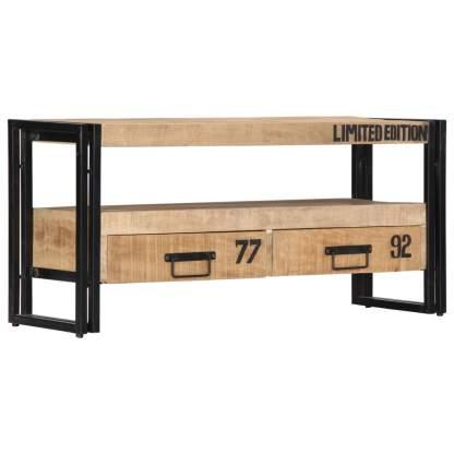 TV spintelė, 100x30x45cm, mango medienos masyvas