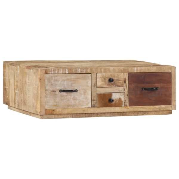 vidaXL Kavos staliukas, 90x60x30cm, mango medienos masyvas