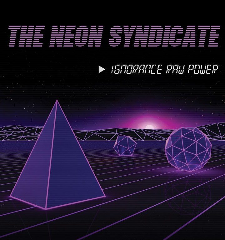 New Synthwave artist 'The Neon Syndicate' talks about his musical influences in this video interview