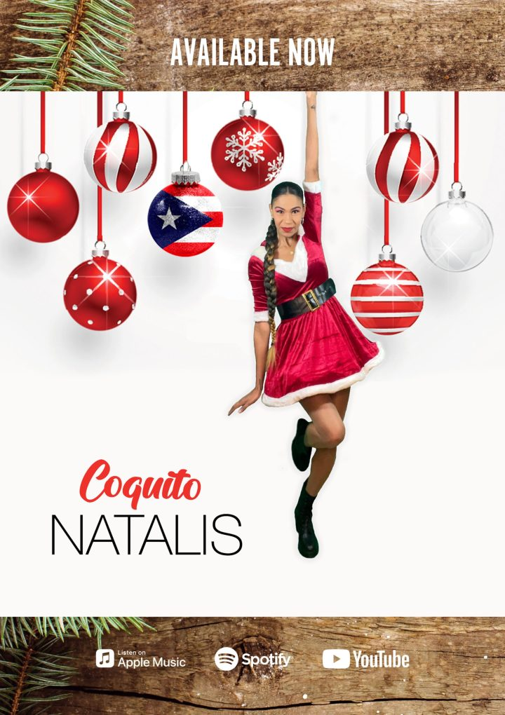 Fun, warm, romantic and happy on Puerto Rican Coquito and exotic rhythms this Christmas ? Check this!