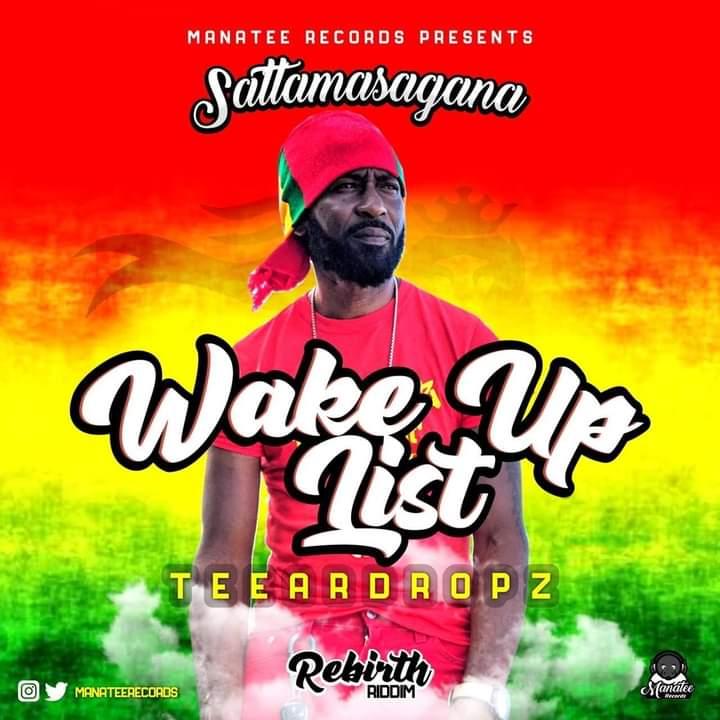 Teeardropz aka Jonathan Brown, is a Jamaican reggae artist, who drops 'Wake up list'