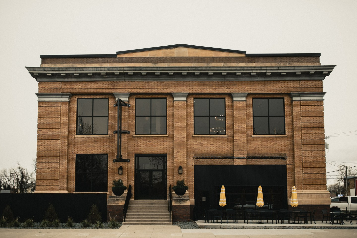 city brew hall building