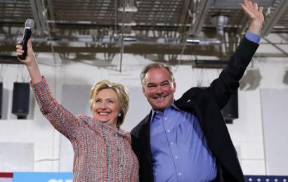 Hillary Clinton picks Tim Kaine as her running mate