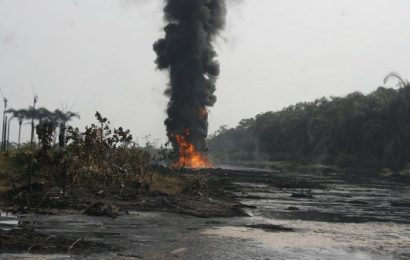 Militants blow up another pipeline