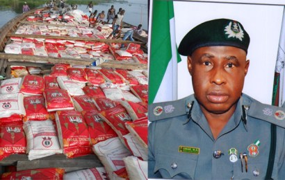 Customs FOU impounds N130m contrabands in September