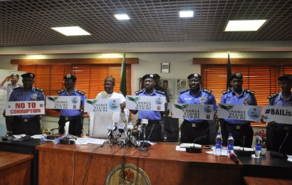 Minister takes change begins with me campaign to Police headquarters