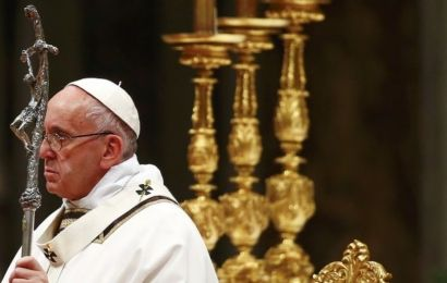 Pope Francis: Christmas 'hostage to materialism'