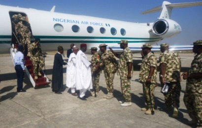 IDP Camp: FG delegation arrives in Maiduguri