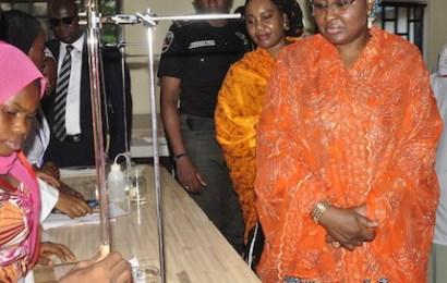 Aisha Buhari unveils youth education empowerment programme