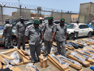 Customs intercepts 440 pump action riffles imported from Turkey