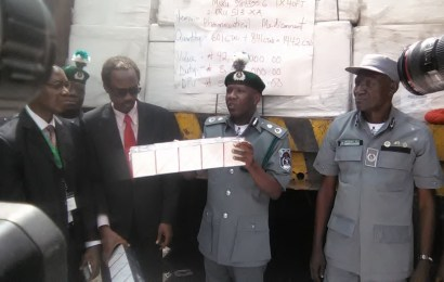 Customs FOU intercepts N200m Contraband, recovers N28.9m duty payment