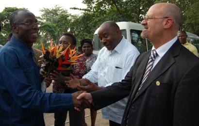 FG explores new areas of collaboration with IITA