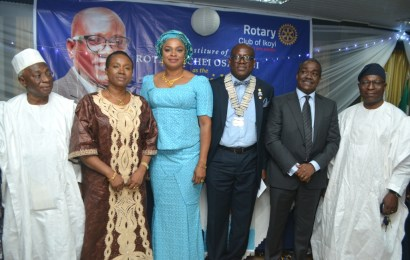 Rotary's four way test can save Nigeria, says Asiodu