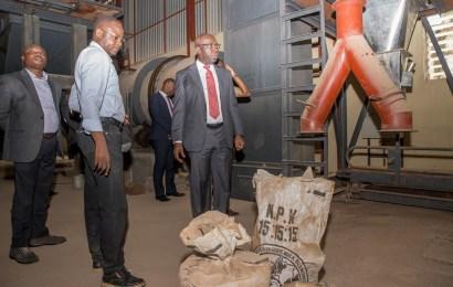 Edo rehabilitates fertilizer plant, to 'disrupt' importation