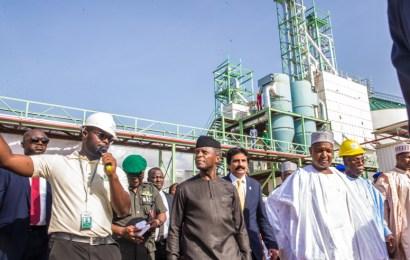 Osinbajo in Kebbi, inaugurates N10b rice mill