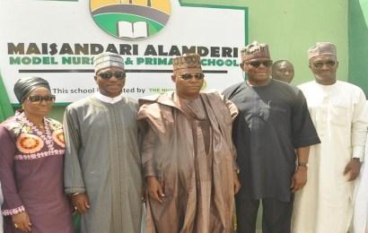 NSE partner CSCS, Oando, AXAMansard, MTN, donates school to IDPs in Borno
