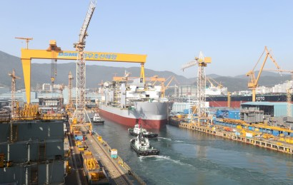 Daewoo Secures Order For Six LNG-Powered Container Vessels