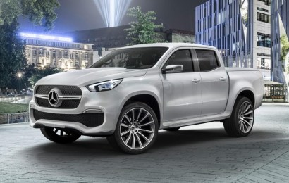 Mercedes-Benz Pick-Up to debut in 2018, may cost $45,000