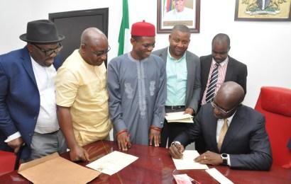 Obaseki signs Edo's N150b 2018 Budget into Law