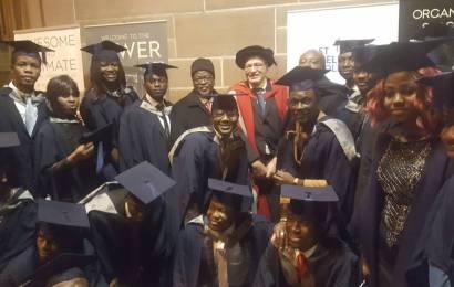 UK varsity graduates 59 Nigerian cadets