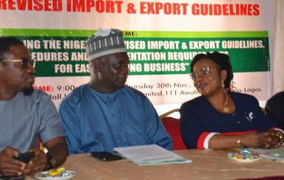 Nigeria to commence implementation of revised import, export guidelines January 1, 2018
