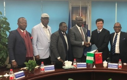 Obaseki in China, signs MoU with CHEC on Gelegele Seaport development