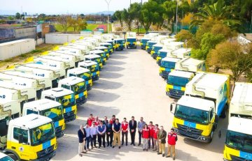 Mercedes-Benz delivers 115 Atego trucks to Chile