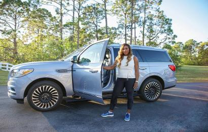 Serena Williams Begins Special Campaign for Redesigned Lincoln Navigator