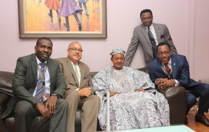 Alaafin At MMA2,Lauds Babalakin's Commitment To Quality Facilities, Maintenance