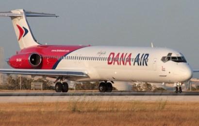 Dana Air Suspends Flights Operations