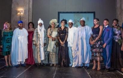 Sanusi, Carrington, Others In London As Shade Okoya Gets Special Award