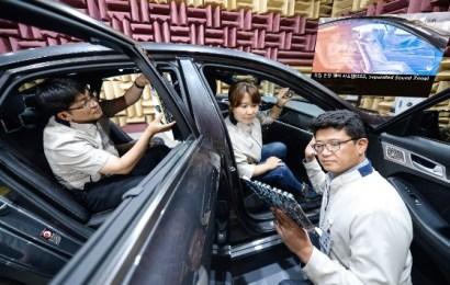 Kia Motors Showcases Sound Zone Technology