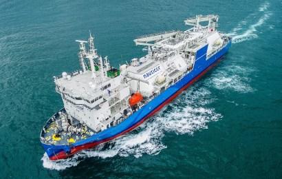 World's Largest LNG Bunker Supply Vessel Departs South Korea