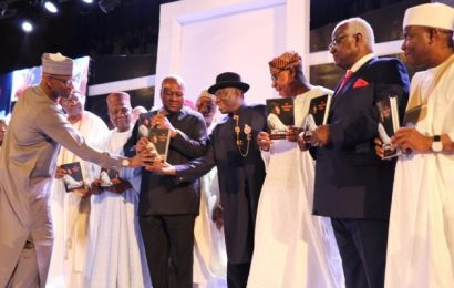 At Book Launch, Jonathan Expresses Concern Over Vote Buying