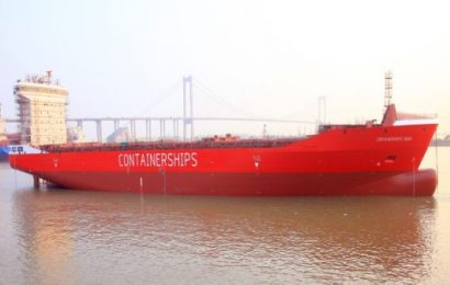 Firm Takes Delivery Of First LNG-Powered Container