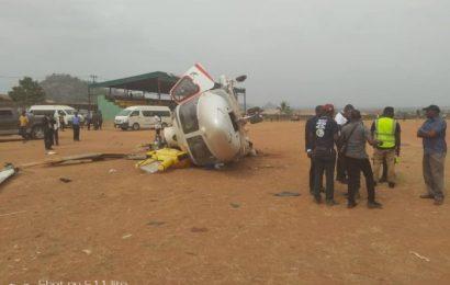 Osinbajo's Chopper Crash: Report Blames Sandy, Dusty Environment