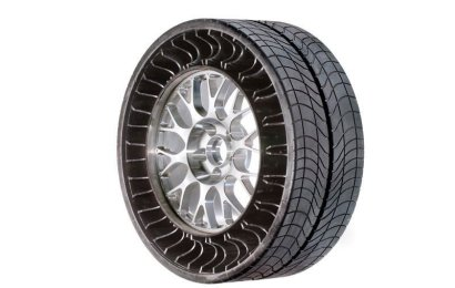 Michelin Unveils Airless Tyre
