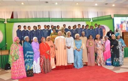 Aisha Buhari Honours Female Soldiers