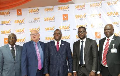 SIFAX Group Consolidates Operation With 25 New Trucks, Four Harbour Cranes, Others