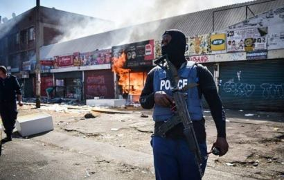 Foreign-Owned Businesses Attacked In South Africa