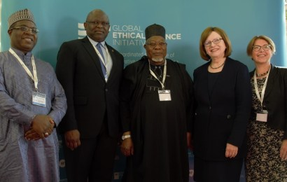 First Bank Boss At Edinburgh Conference, Reiterates Commitment to Financial Inclusion In Nigeria
