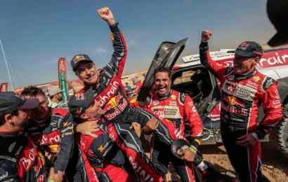 Carlos Sainz Wins 2020 Dakar Rally