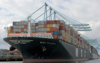 Seaport Welcomes Largest Boxship