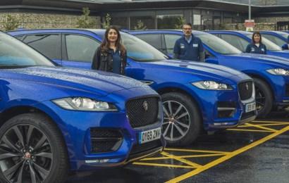 Jaguar Deploys 362 Cars For Emergency Service Workers