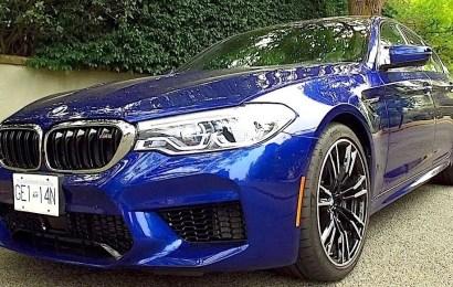 New BMW M5 Debuts