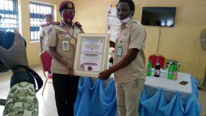 Students Honour FRSC Sector Commander