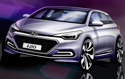Hyundai Unveils Design Sketches Of New i20