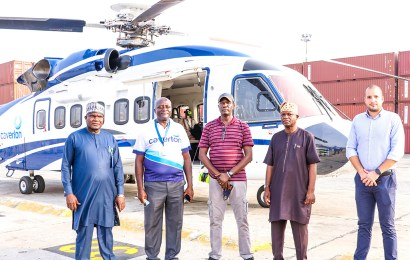 NPA Receives Biggest Caverton Helicopter At PTML Terminal