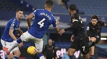 Man City Beats Everton 3-1, Attains  Ten-Point Lead