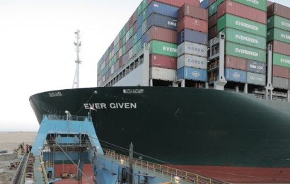 Last Group Of Stranded Ships To Cross Suez Canal